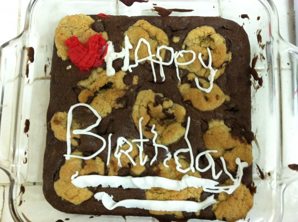Humor Funny Humorous Family Life Love Laugh Laughter Parenting Mom Moms Dad Dads Child Kid Kids Children Son Sons Daughter Daughters Brother Brothers Sister Sisters Grandparent Grandma Grandpa Grandparents Grandfather Grandmother Gina Valley 12 For 12 Birthday 12-12-12 12/12/12 December 12, 2012 Kindness Acts Caring Other People Brownie Cookie Delight Cake 13 year old