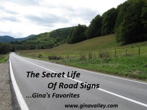Humor Funny Humorous Family Life Love Laugh Laughter Parenting Mom Moms Dad Dads Parenting Child Kid Kids Children Son Sons Daughter Daughters Brother Brothers Sister Sisters Grandparent Grandma Grandpa Grandparents Grandfather Grandmother Parenting Gina Valley The Secret Life Of Road Signs...Gina's Favorites Road Trip Travel
