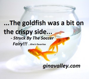 Humor Funny Humorous Family Life Love Laugh Laughter Parenting Mom Moms Dad Dads Parenting Child Kid Kids Children Son Sons Daughter Daughters Brother Brothers Sister Sisters Grandparent Grandma Grandpa Grandparents Grandfather Grandmother Parenting Gina Valley Struck By The Soccer Fairy!!! ...Gina's Favorites