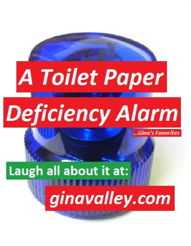 A Toilet Paper Deficiency Alarm