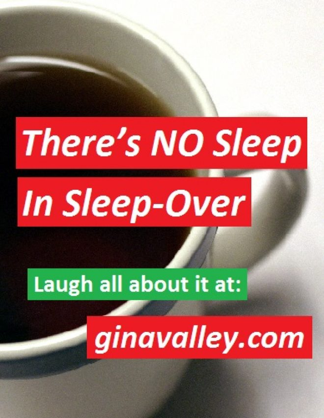 There's NO Sleep In Sleep-Over