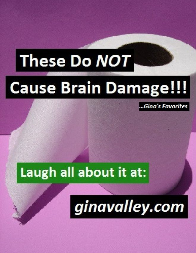 These Do NOT Cause Brain Damage!!! …Gina's Favorites