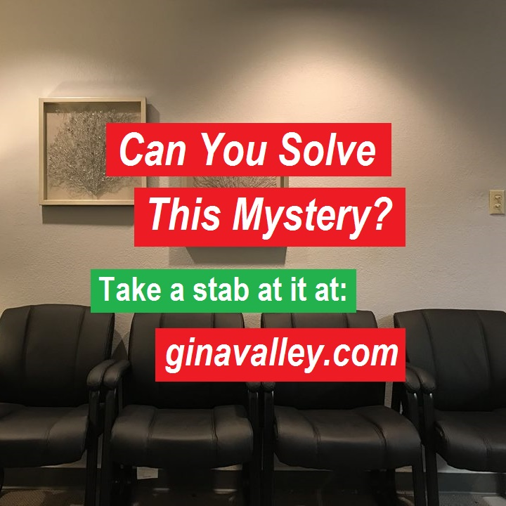 Mystery Solve-It-Yourself Humor Funny Humorous Family Life Love Laugh Laughter Parenting Mom Moms Dad Dads Parenting Child Kid Kids Children Son Sons Daughter Daughters Brother Brothers Sister Sisters Grandparent Grandma Grandpa Grandparents Grandfather Grandmother Parenting Gina Valley Can You Solve This Mystery?